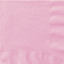 Lovely Pink Napkins (20pcs) 2-Ply Paper Napkins